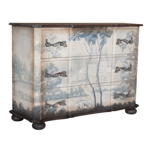 Aravale 3 Drawer Gentleman's Chest by Astoria Grand