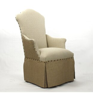 Zentique Skirted Armchair