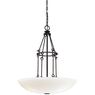 Minka Lavery Kingsgate Kona 3-Light Bowl Pendant