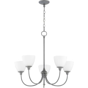 Willa Arlo Interiors Dian 5-Light Shaded Chandelier
