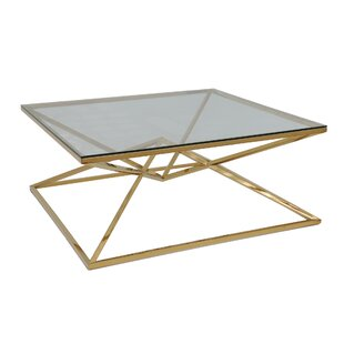 Khari Coffee Table with Tray Top