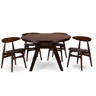 Wholesale Interiors Baxton Studio Flamingo 5 Piece Dining Set