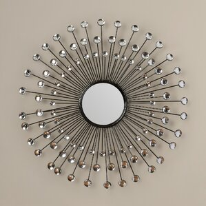 Sunburst Wall Mirror sunburst mirrors you'll love | wayfair