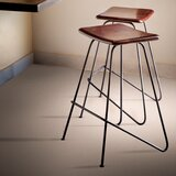 Dowler Solid Wood 25 Counter Stool by 17 Stories