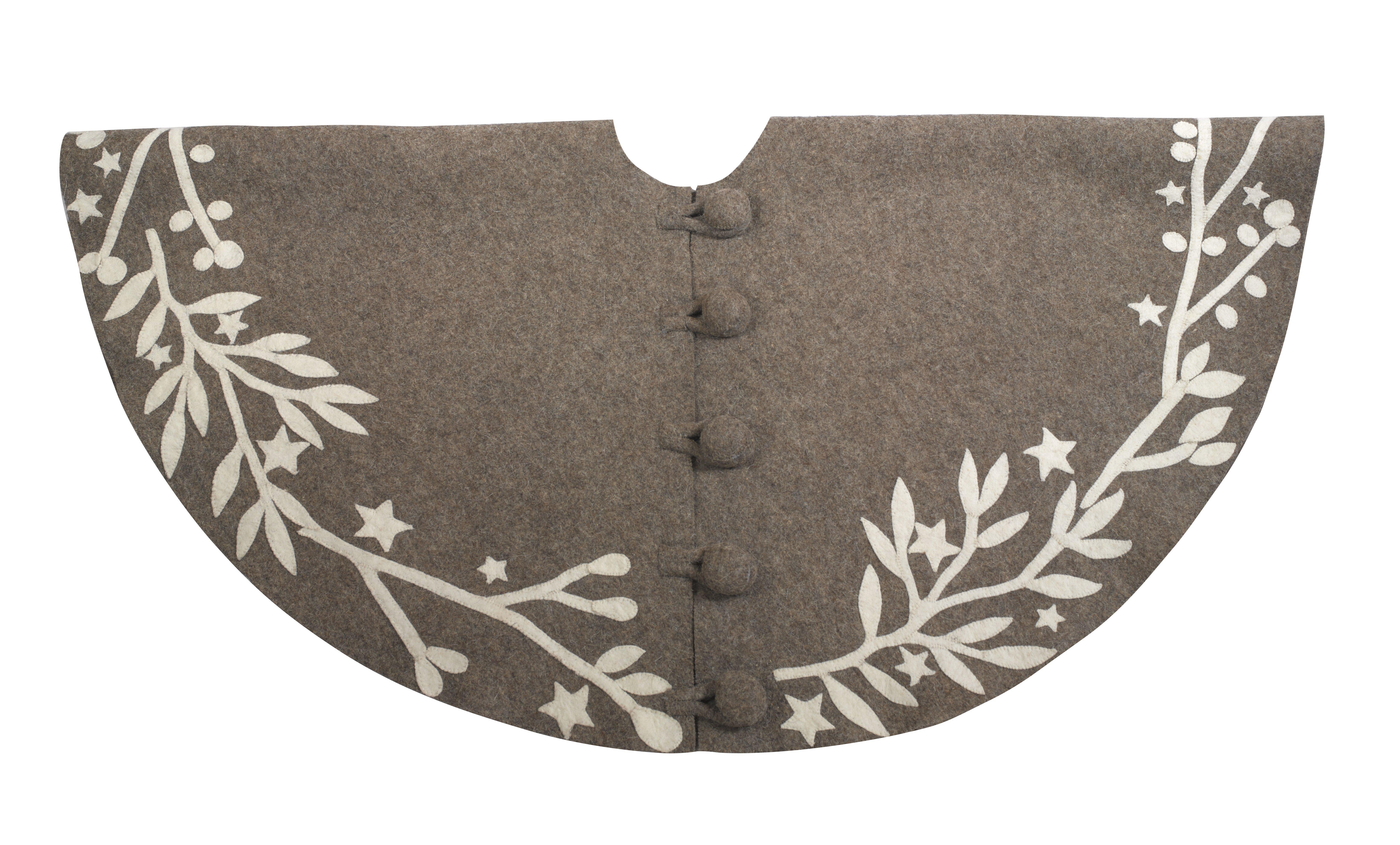 The Holiday Aisle Tree Skirt Wayfair