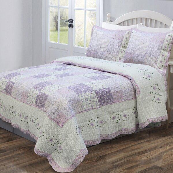Cozy Line Home Fashion Love of Lilac Quilt Set & Reviews | Wayfair : lilac quilt cover - Adamdwight.com