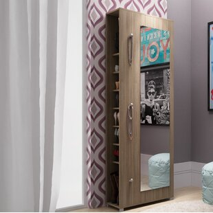 Rebrilliant 20-Pair Shoe Storage Cabinet