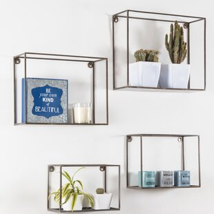 Amot Wall Shelf Set (Set of 4)