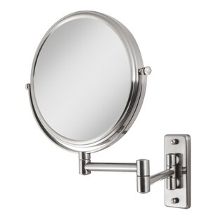 Alcott Hill Stecker Two-Sided Dual-Arm Wall Mount Mirror