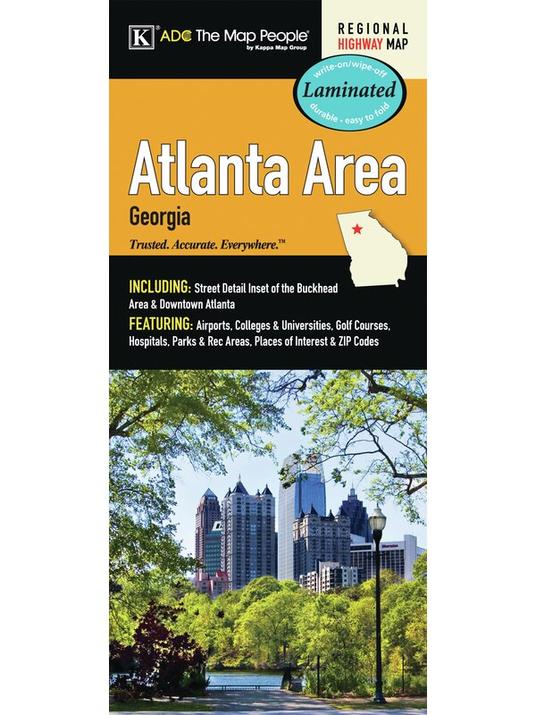 Atlanta Georgia Area Laminated Map on venus map, pekin map, normal map, inuyasha map, marshall county map, sprite map, globe map, muskegon county boundary map, inche in continental us map, guess map, river valley map, dwarf map, peoria map, adidas map, bugbear map, nike map, el paso map,
