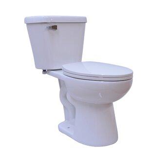 UCore Basic Single Flush 2 Piece 1.28GPF Elongated Toilet