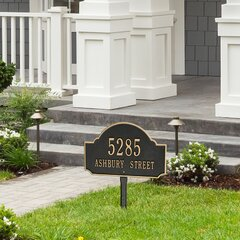 Lawn Insert Address Plaques Signs You Ll Love In 2021 Wayfair