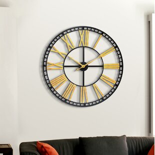 office large size floor clocks wayfair. Gold Wall Clocks Office Large Size Floor Wayfair