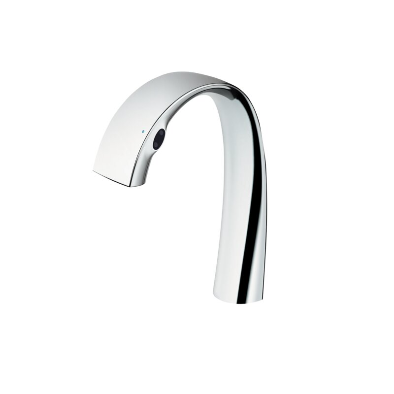 ZN Electronic Touchless Single Hole Bathroom Faucet with Soft Flow™ and Safe Thermo™ Technology
