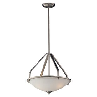 Winston Porter Westphal 3-Light Bowl Pendant