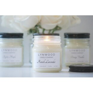 French Lavender Scented Jar Candle