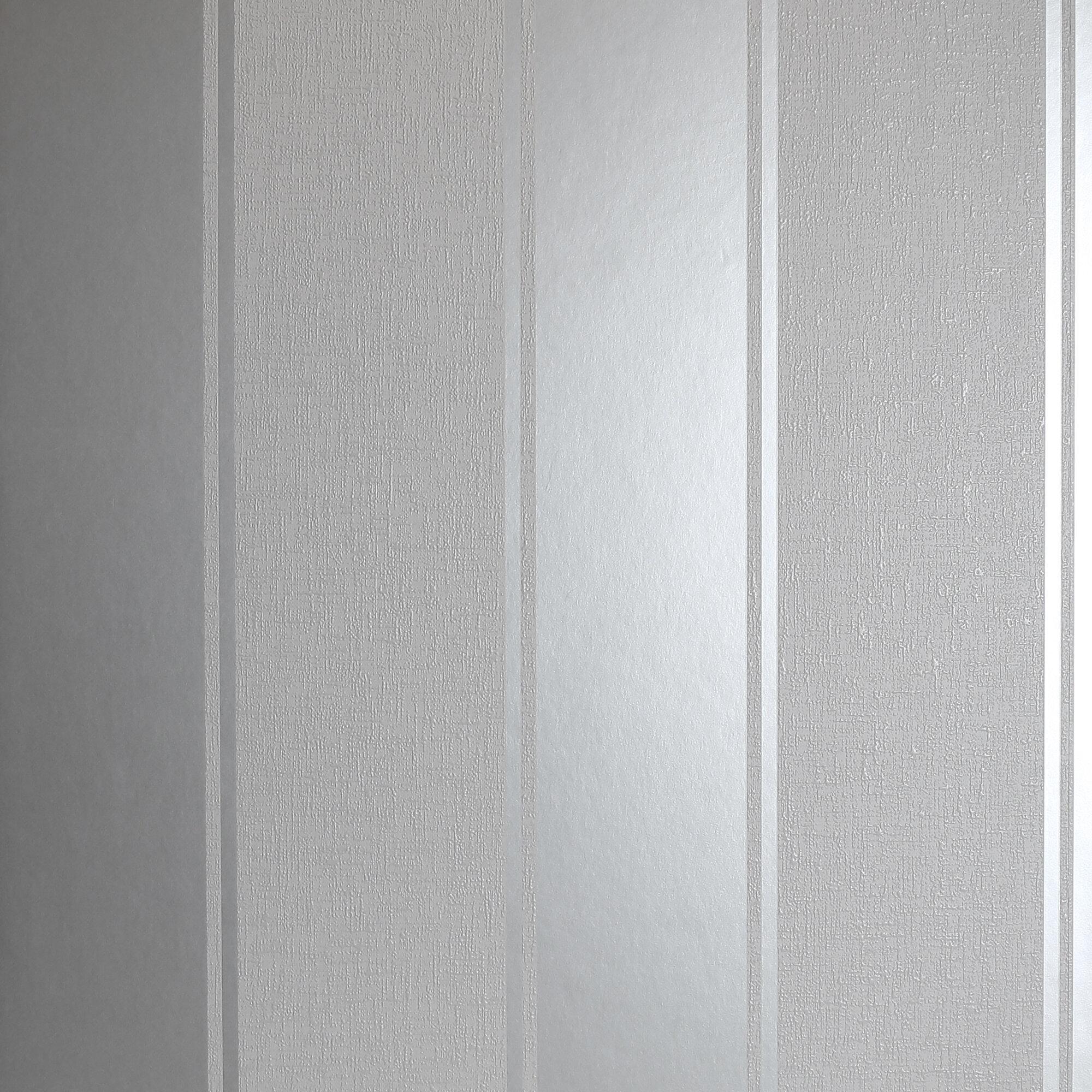1m X 53cm Matte Metallic Finish Wallpaper Roll