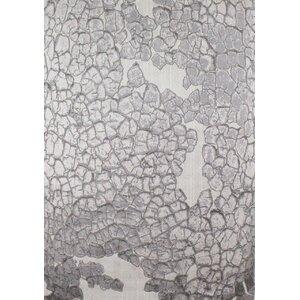 Woodman Textured Bedrock Gray Area Rug