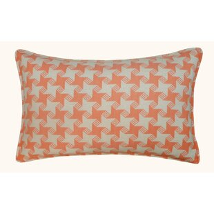 Houndstooth Outdoor Lumbar Pillow