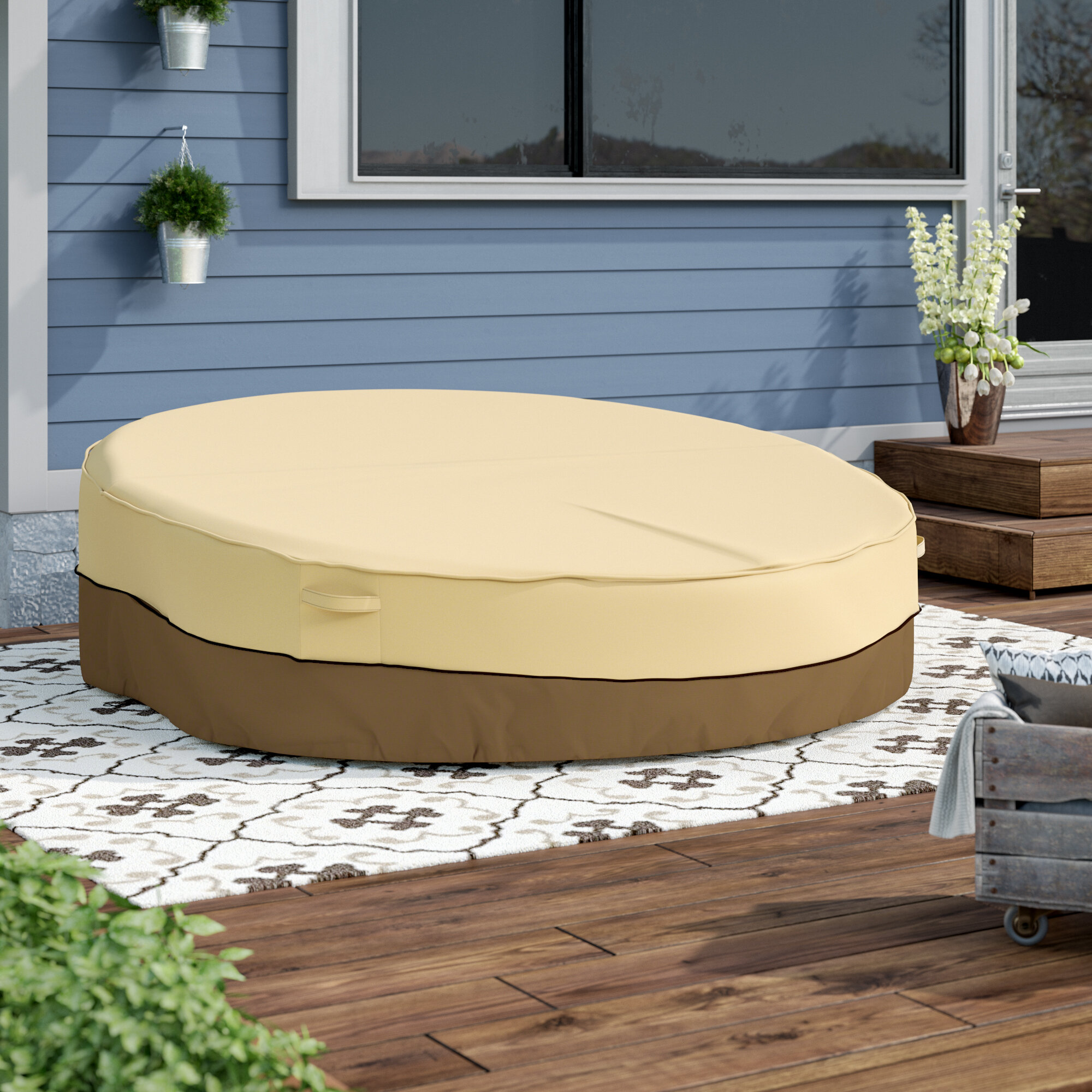 Arlmont Co Perry Water Resistant Daybed Cover Cover Reviews Wayfair