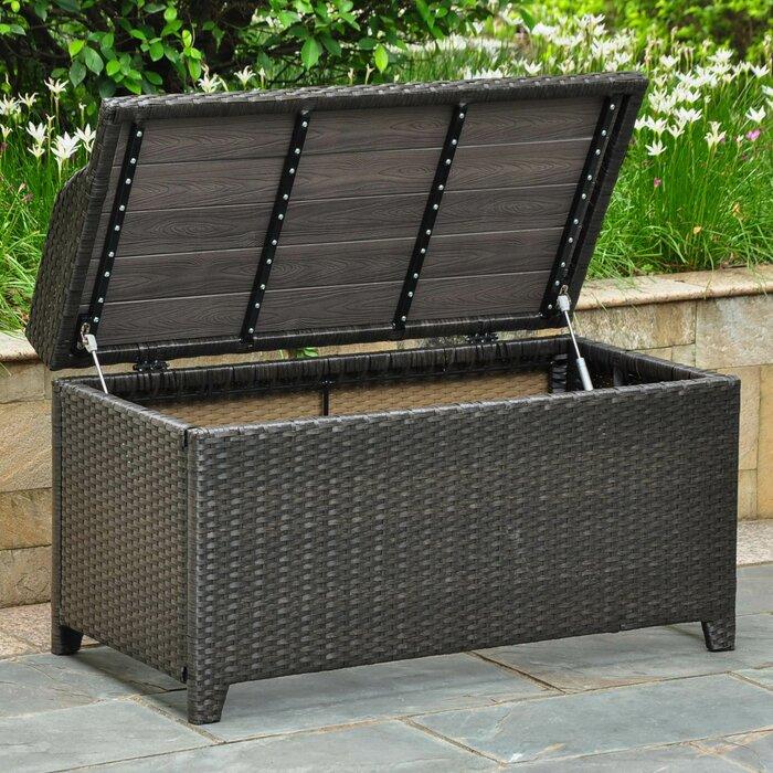 Strange Katzer Brescia Resin Plastic Storage Bench Dailytribune Chair Design For Home Dailytribuneorg