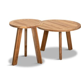 Hoff 2 Piece Nesting Tables by Rosecliff ..