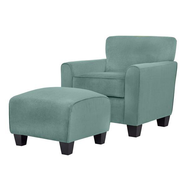 Blue Chair And Ottoman Wayfair