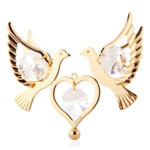 Love Doves Hanging Ornament