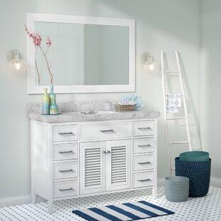 Hamil 49 Single Bathroom Vanity Set with Mirror By Highland Dunes
