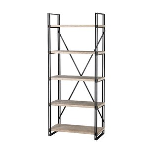 Marek 5 Layer Etagere Bookcase