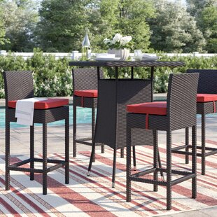 Brentwood Patio Dining Chair with Cushion (Set of 4)