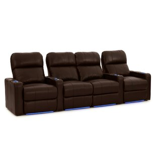 Latitude Run Home Theater Row Curved Seating (Row of 4)