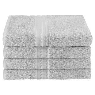 Ankara 100% Cotton Bath Towel (Set of 4) By The Twillery Co.
