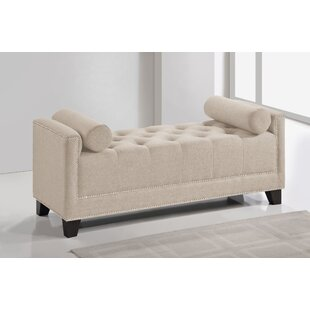 Wholesale Interiors Baxton Studio Hirst Upholstered Bench