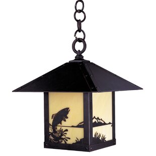 Arroyo Craftsman Timber Ridge 1-Light Outdoor Pendant