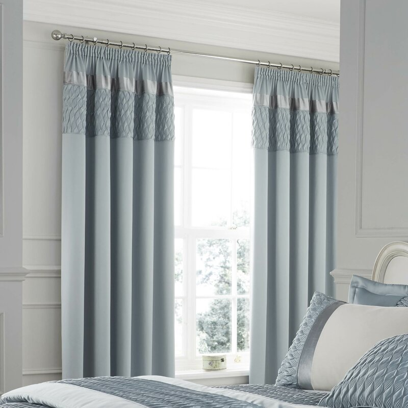 catherine lansfield quilted luxury satin cafe curtain reviews. Black Bedroom Furniture Sets. Home Design Ideas