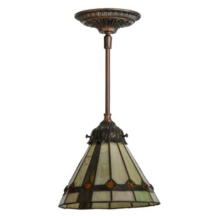 Meyda Tiffany Belvidere 1-Light Cone Pend..