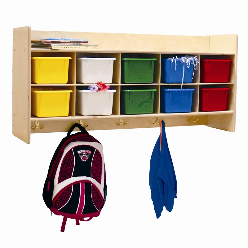 Contender 10 Compartment Cubby with Trays