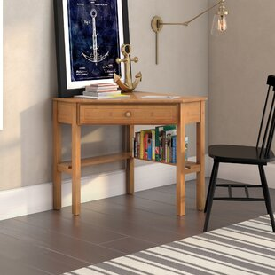 Harley Solid Wood Corner Desk by Beachcrest Home