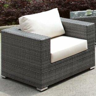 Brayden Studio Peters Outdoor Arm Chair w..