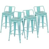 Harbison Swivel Counter & Bar Stool (Set of 4) by Williston Forge