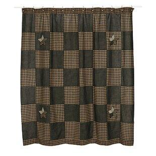 Saco Cotton Star Single Shower Curtain