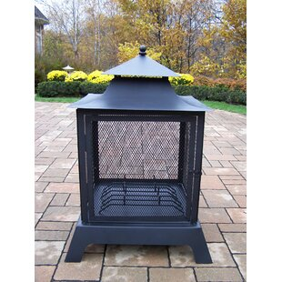 Oakland Living Fire Pits Steel Wood Burni..