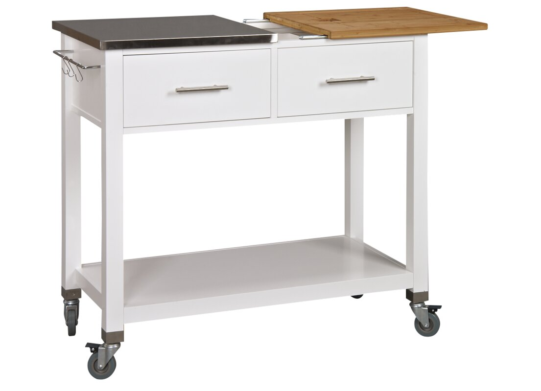 Stainless Steel Kitchen Islands U0026 Carts Youu0027ll Love | Wayfair