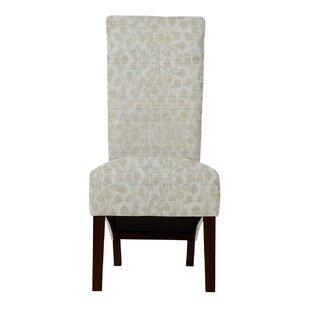 Langley Street Ramon Beige Parsons Chair (Set of 2)