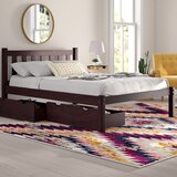Ratcliff Platform Bed with Storage Drawers byAlcott Hill