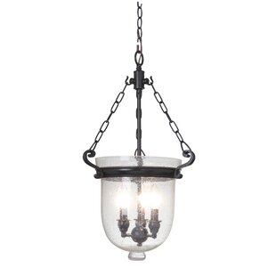 Mariana Home Cloche 3-Light Urn Pendant