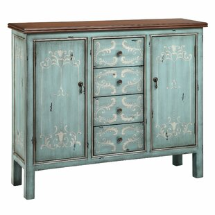 Tess 2 Door Cabinet in Soft Surf Accent Cabinet by One Allium Way