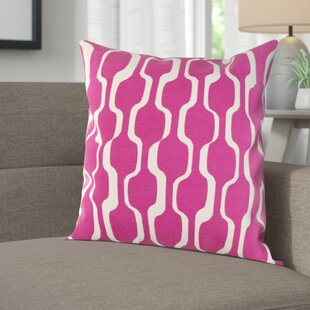 Arsdale Contemporary Cotton Throw Pillow Cover