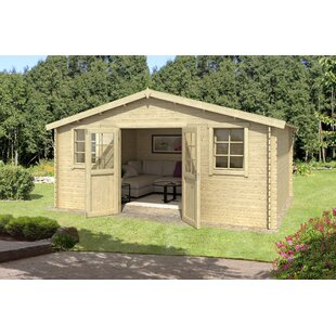 Wilborn 17 X 10 Ft. Tongue & Groove Summer House By Sol 72 Outdoor